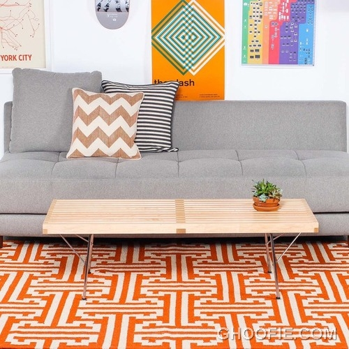 Vibrant Colored Rugs in the Living Room2