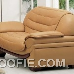 Aef Leather sofa, CAMEL Loveseat LRG