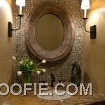 Small Bathroom Design Tip: Use Mirrors