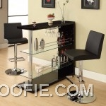 Dark Contemporary Home Bar Cool Barstools Mini Bar Countertop