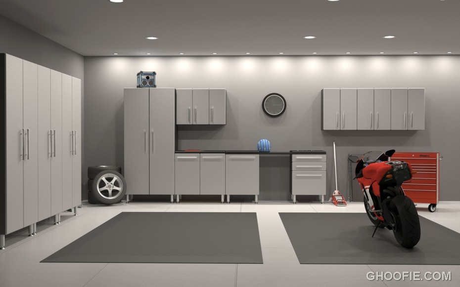 Elegant garage designs ideas interior design ideas for Garage designs interior ideas