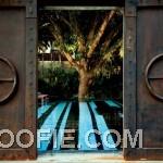 Great Iron Entrance Gate Indigo Pearl Hotel in Phuket