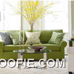 Inspiration Green Sofa