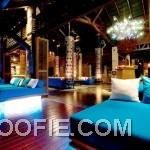 Luxury Furniture Indigo Pearl Hotel Interior Blue Bed Wooden Floor