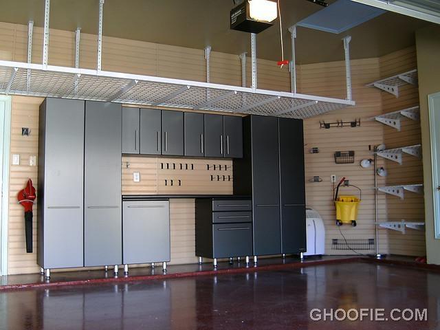 Modern Garage Overhead Storage Ideas