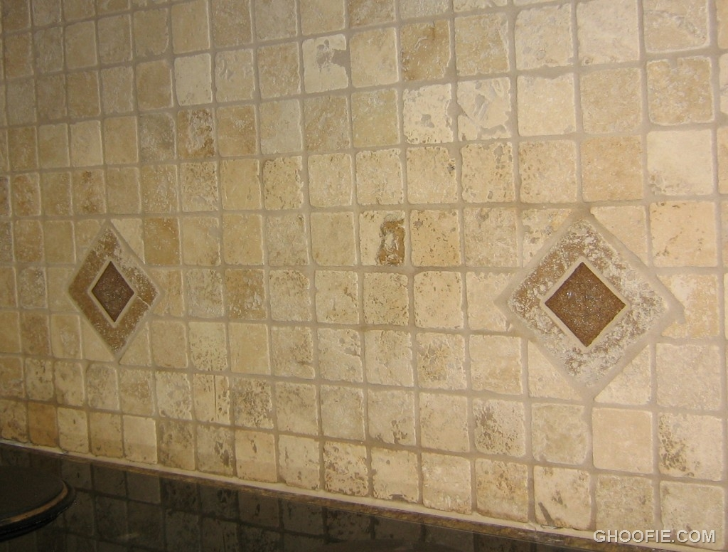 Simple Tile Kitchen Backsplash Obsolescent Rhombus Tile