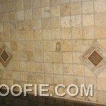 Simple Tile Kitchen Backsplash Obsolescent Rhombus Tile Design
