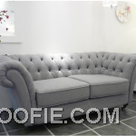 Spitalfield Grey Sofa