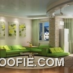 Stylish green sofa set