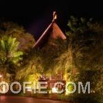Unique Cone Shape Indigo Pearl Hotel From Far View Outdoor Lamp