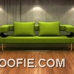 Unique Green Sofas for Living Room