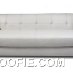 White Leather Sofa for Media Rooms and Modern Seating Solutions