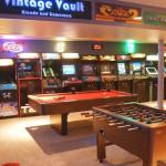 Arcade Games Room Basement Design