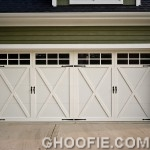 Big Garage Reliability Door Design Green Wall Plank Home Design