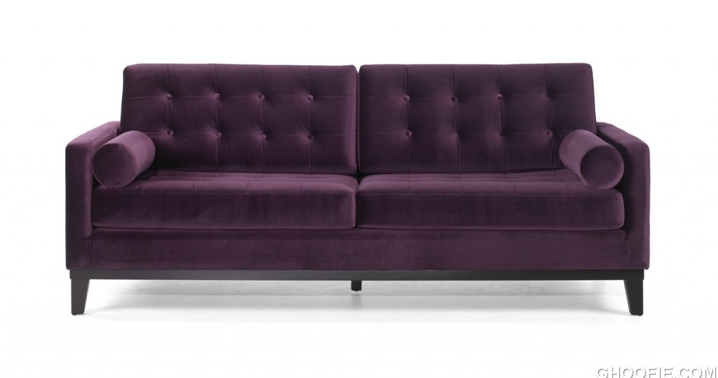 Centennial Sofa Purple Velvet