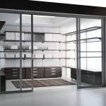 Contemporary Sliding Walk-in Closet Door