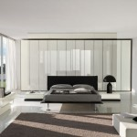 Cool Low Profile Bed Italian Bedroom Furniture Square Fur Rug