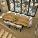 Stylish large dining area