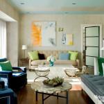 Elegant Modern Style Interior Design Blog Brown Sofa Wooden Floor