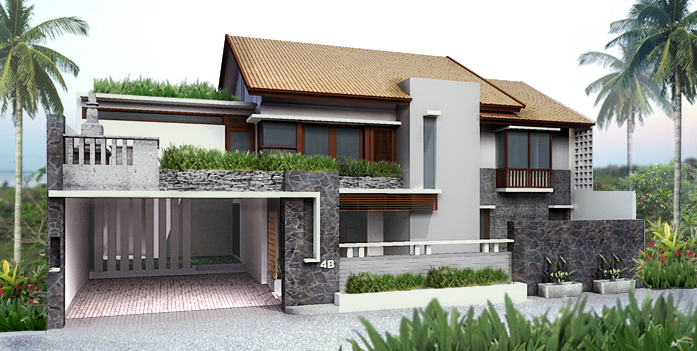 Gorgeous modern style gray exterior house design ideas for Modern gray house exterior