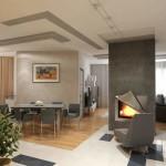 Gorgeous Modern Style Home Interior Gray Furniture Design Ideas
