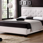 Luxury Leather Queen Size Bed Frame