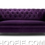 Luxury Purple Sofa