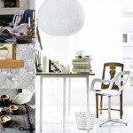 Magnificent Interior Design Blog White Chairs Artistic Chandelier