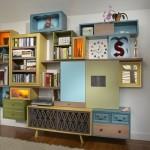 Marvelous Modern Colorful Storage Interior Design Blog