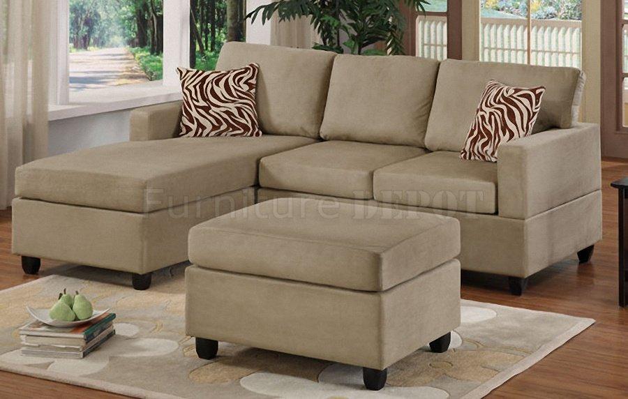 Marvelous Modern Minimalist Gray Small Sectional Sofa Design ...