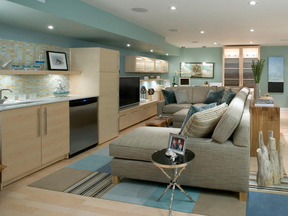 Modern basement design ideas interior design ideas for Modern basement remodeling ideas