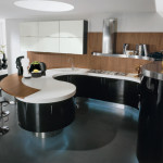 Modern Italian Kitchen Design Curved Kitchen Island Modern Bar Stool