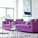 Modern purple sofa inspiration