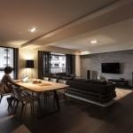 Natural modern dining room