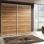 Rustic Wooden Sliding Closet Door
