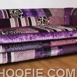 Slide purple haze sofa