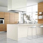 Stylish White Bar Stools Modern Range Hood Italian Kitchen Design