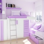 Teenage Purple Girl Bedroom