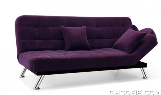 The New Elegance Purple Sofa Bed