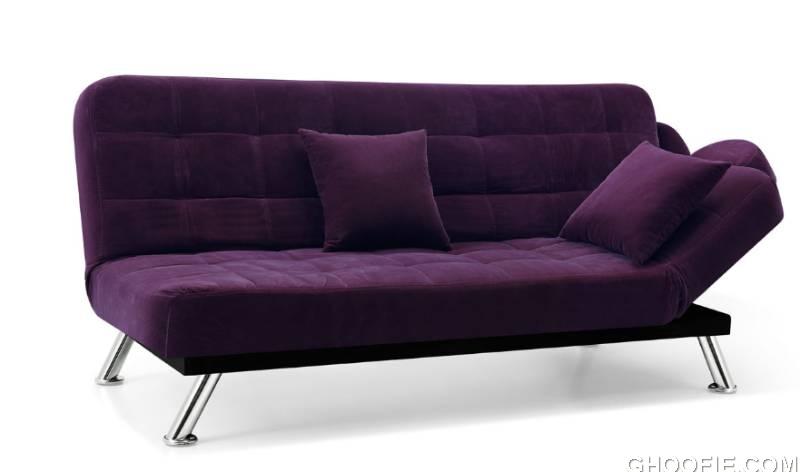 The New Elegance Purple Sofa Bed