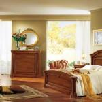 Cool Italian Bedroom Furniture Glass Wall White Drapes