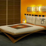 Wooden Japanese Bed Frame Design