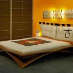 Wooden Japanese Bed Frame Design