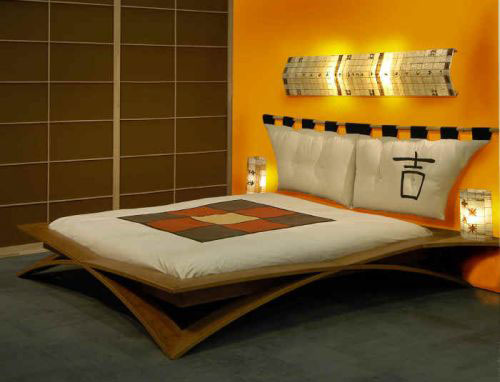 japanese style bed frame plans