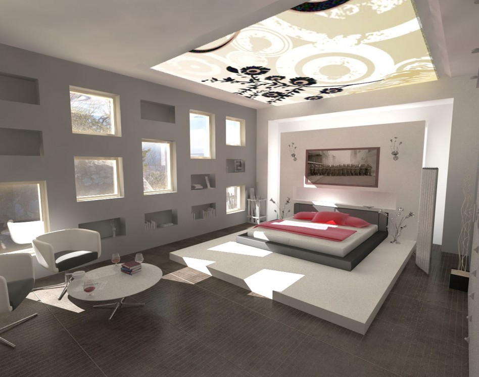 Creative modern bedroom design