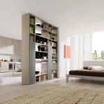 Open modern bedroom