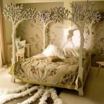 Atilla design canopy bed