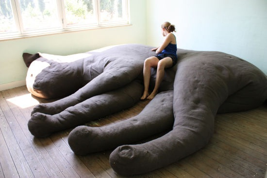 Animal couch