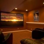 Cozy basement idea