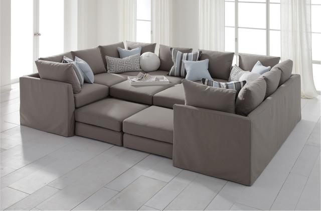 Contemporary sectional sofa